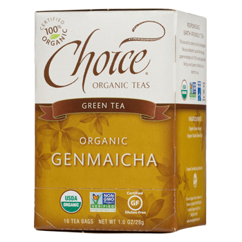 Choice Organic Teas Genmaicha Green Tea