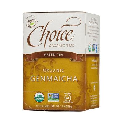 Choice Organic Teas Genmaicha Green Tea