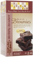 123 Gluten Free Devlishly Decadent Brownie Mix, 30.56 oz