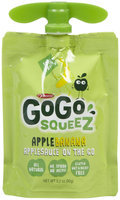 GoGo SqueeZ Apple Sauce - Apple Banana - 3.2 oz
