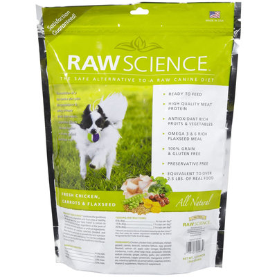 Stewart Raw Science Real Chicken with Berries & Flaxseed - 12 oz