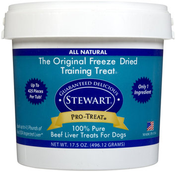 Stewart Pro-Treat All Natural Freeze Dried Beef Liver - 17.5 oz