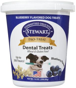 Stewart Pro-Treat Dental Treats - Blueberry Flavor