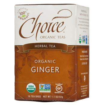 Choice Organic Teas Ginger Herbal Tea