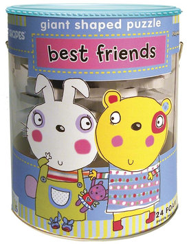 Innovative Kids Soft Shapes Giant Floor Puzzle - Best Friends