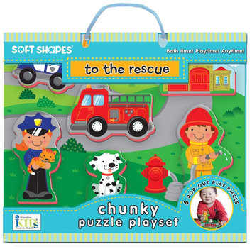 Innovative Kids Chunky Puzzle Playsets: To The Rescue - 1 ct.