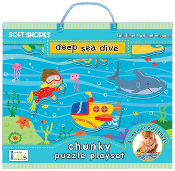 Innovative Kids Chunky Puzzle Playsets: Deep Sea Dive - 1 ct.