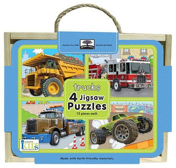 Innovative Kids Jigsaw Puzzle Box Sets: Trucks