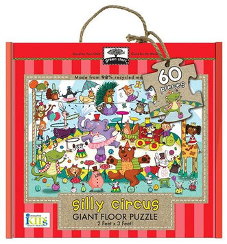 Innovative Kids Giant Floor Puzzles: Silly Circus (60Pc) - 1 ct.