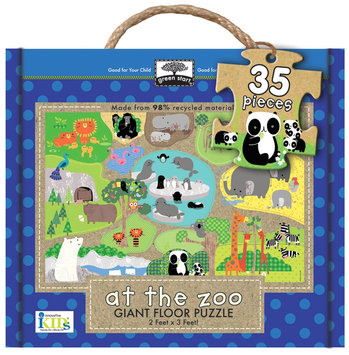 Innovative Kids Giant Floor Puzzles: At The Zoo (60Pc)