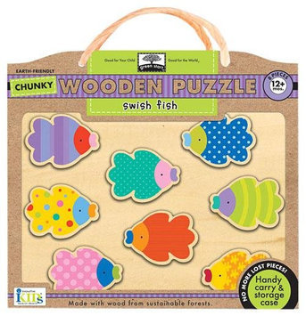 Innovative Kids Chunky Wooden Puzzles: Swish Fish