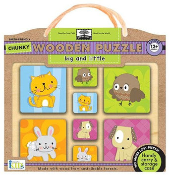 Innovative Kids Chunky Wooden Puzzles: Big And Little