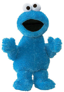 Gund Sesame Street Cookie Monster - 21in