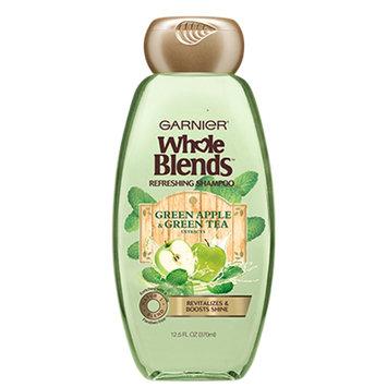 Garnier Whole Blends Green Apple & Green Tea Extracts Refreshing Shampoo