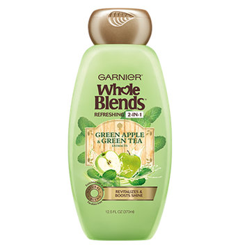 Garnier Whole Blends Green Apple & Green Tea Extracts Refreshing 2-in-1 Shampoo & Conditioner