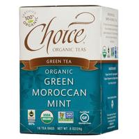 Choice Organic Teas Green Moroccan Mint Green Tea