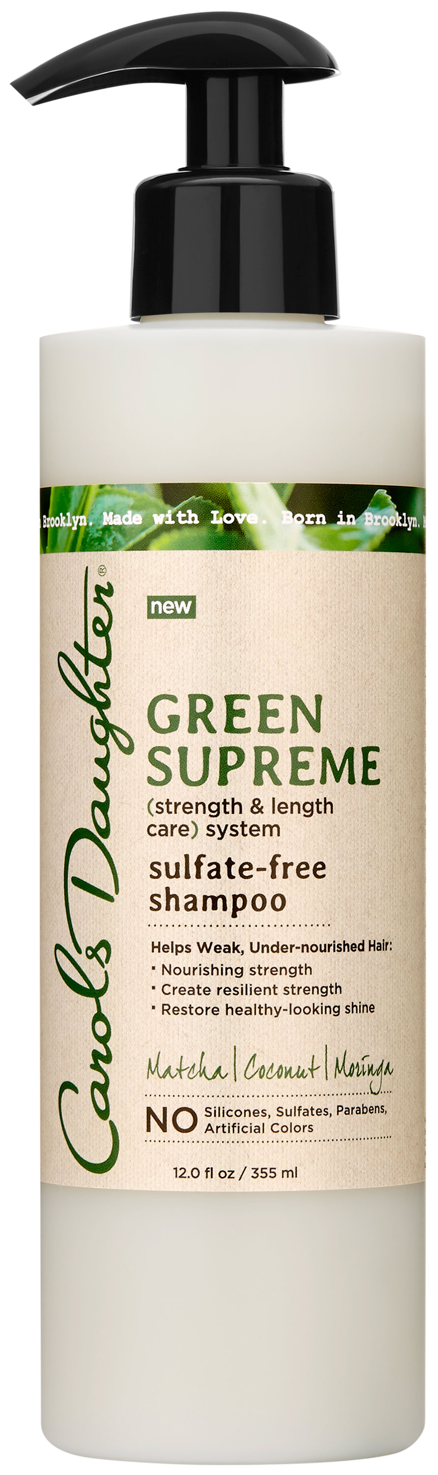 Carol's Daughter Green Supreme Sulfate-Free Shampoo