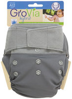GroVia Cloth Diaper Shell - Hook & Loop - Cloud