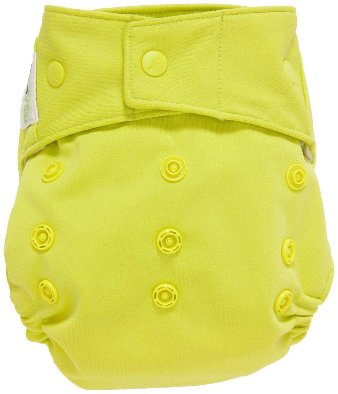GroVia Cloth Diaper Shell - Snap - Citrus