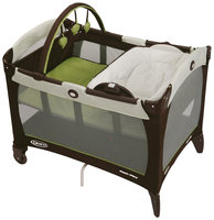 Graco Pack 'N Play Playard with Reversible Napper & Changer Go Green