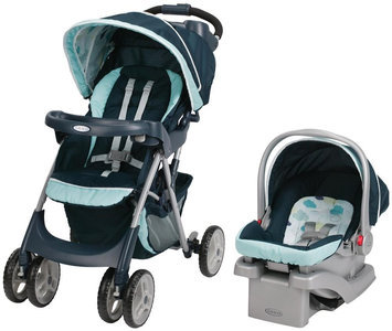 Graco Comfy Cruiser Click Connect Travel System in Stratus