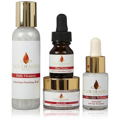 Goldfaden Skincare Red Tea Anti-Aging Starter Kit, 4 ct