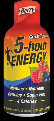 Berry Regular Strength 5-hour ENERGY® Shot