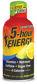 Citrus Lime Regular Strength 5-hour ENERGY® Shot