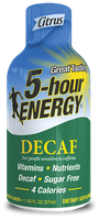 Decaf 5-hour ENERGY® Shot