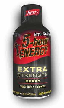 Berry Extra Strength 5-hour ENERGY® Shot