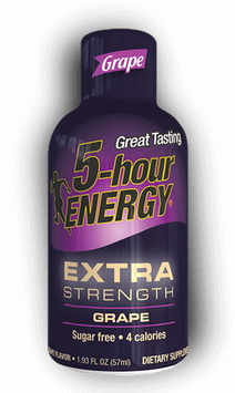 Grape Extra Strength 5-hour ENERGY® Shot
