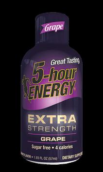 Grape Extra Strength 5-hour ENERGY® Shot