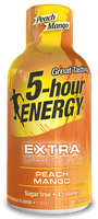 Peach Mango Extra Strength 5-hour ENERGY® Shot
