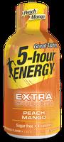 Peach Mango Extra Strength 5-hour ENERGY® Shot