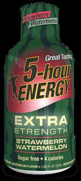Strawberry Watermelon Extra Strength 5-hour ENERGY® Shot