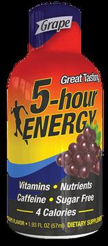 Grape Regular Strength 5-hour ENERGY® Shot