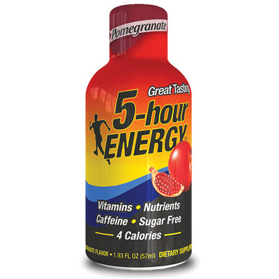 Pomegranate Regular Strength 5-hour ENERGY® Shot