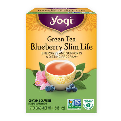 Yogi Tea Green Tea Blueberry Slim Life