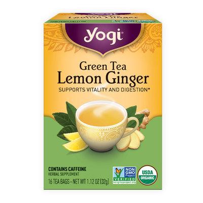 Yogi Green Tea Lemon Ginger Tea