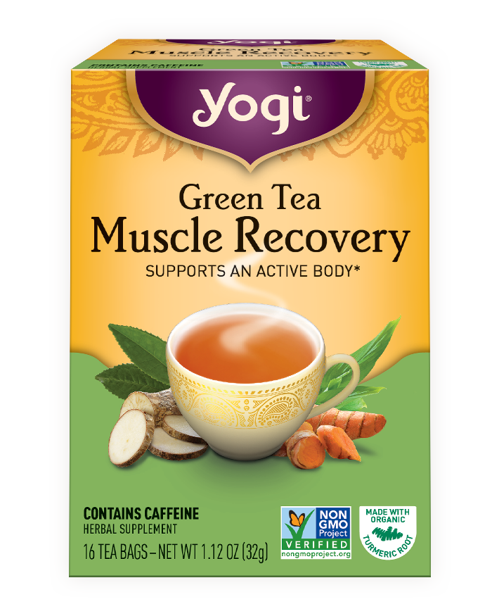 Yogi Tea Green Tea Muscle Recovery
