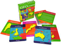Geo Toys Geotoys 116 GeoCards World - Educational Geography Card Game