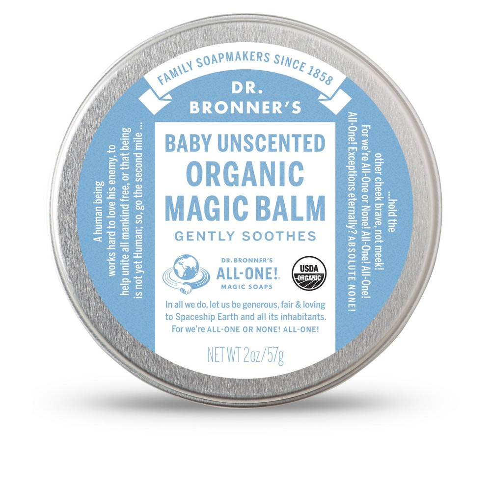 Dr. Bronner's Unscented Organic Magic Balm - 2 oz.