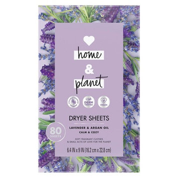 Love Home and Planet Lavender & Argan Oil Dryer Sheets