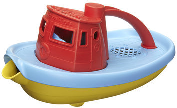 Green Toys Tugboat - Red - 1 ct.