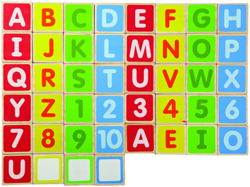 Wonderworld Wed-3107 Abc Alphabet Magnet