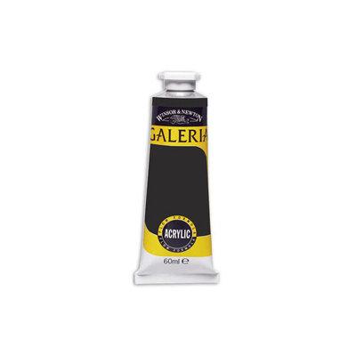 Winsor & Newton Galeria Flow Acrylics, 386 Mars Black, 60 ml