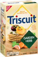 Nabisco Triscuit - Crackers - Baked Whole Grain Wheat Garden Herb
