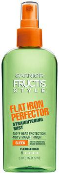 Garnier Fructis Style Sleek & Shine Flat Iron Perfector Straightening Mist 24 Hr Finish