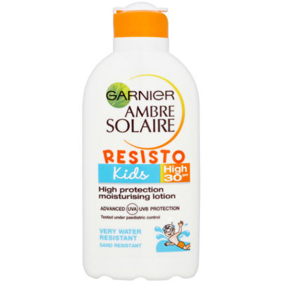 Garnier Ambre Solaire Resisto Kids SPF 30 High Protection Moisturising Lotion