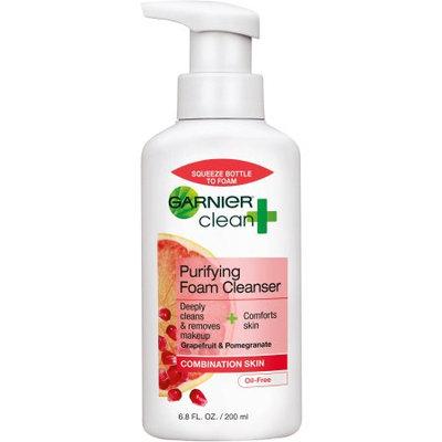 Garnier Clean+ Purifying Foam Cleanser